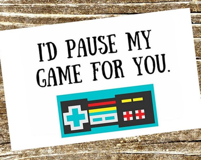 <p> Anh ngừng chơi game vì em.</p>