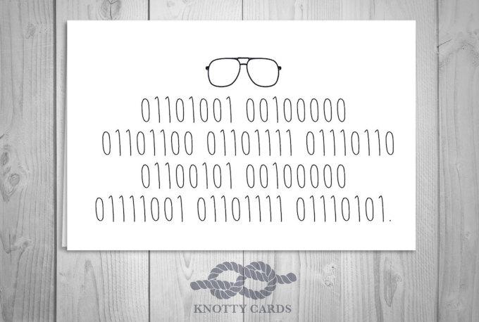 """<p> Lời tỏ tình """"anh yêu em"""" ẩn sau dòng code.</p>"""