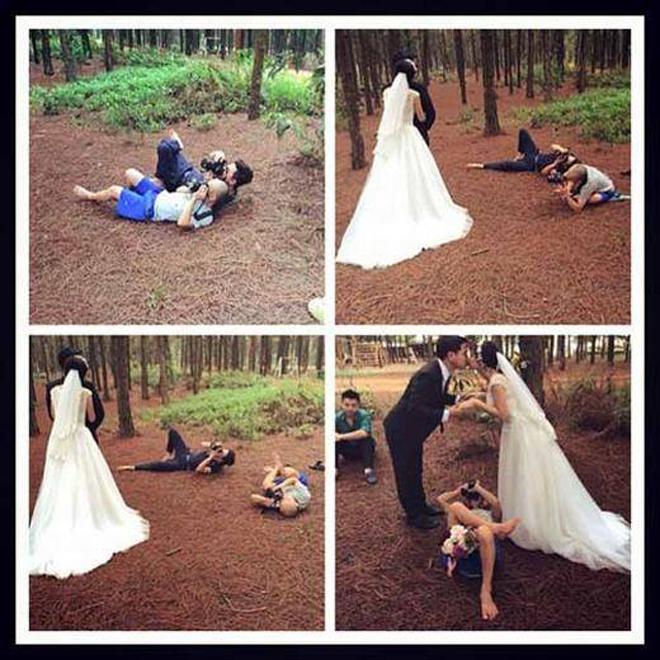 <p> Trang <em>Petapixel</em> tỏ ra rất ấn tượng với loạt ảnh hậu trường chụp cưới do trang facebookWe Share đến từ Thái Lan chia sẻ. Việc thiếu thốn các thiết bị hỗ trợ chụp hình chuyên nghiệp đã kích thích sự sáng tạo từ các nhiếp ảnh gia ở Đông Nam Á.</p>