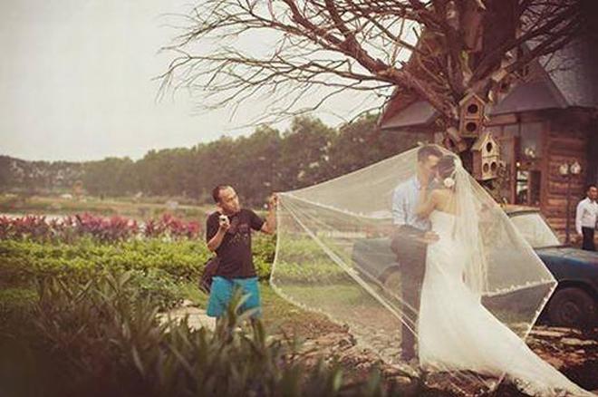 <p> Hình ảnh cũng rất quen thuộc với các nhiếp ảnh gia chụp cưới tại Việt Nam.</p>