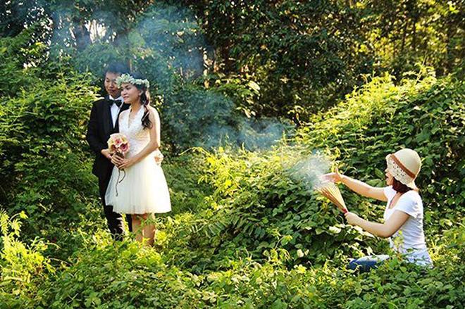 <p> Với nhiều người, cách tạo hiệu ứng khói như này có thể không nên sử dụng.</p>
