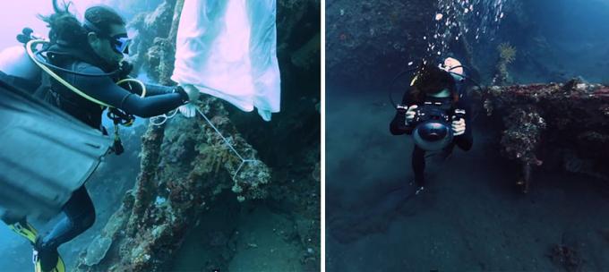 <p> Nàng tiên dưới nước không hề được tự do lả lướt.</p>
