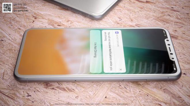 <p> Thông tin rò rỉ và ảnh dựng iPhone 8 thời gian qua đều xuất hiện với vỏ màu đen bóng, khiến không ít người tò mò máy màu trắng trông sẽ thế nào. Để giải đáp thắc mắc ấy, nhóm thiết kế<em>Martin Hajek</em> đã tung ra concept mới nhất.</p>
