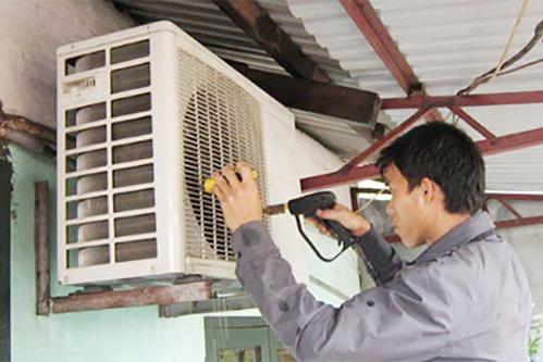 Cục nóng điều hòa được khuyến cáo lắp nơi thông thoáng, tránh mặt trời chiếu trực tiếp.