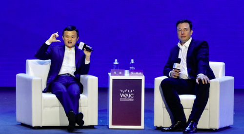 Elon Musk and Jack Ma argue about AI