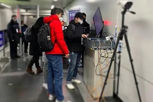 Đội ngũ nhân viên của Megvii đang tiến hành thiết lập hệ thống kiểm dịch từ xa.