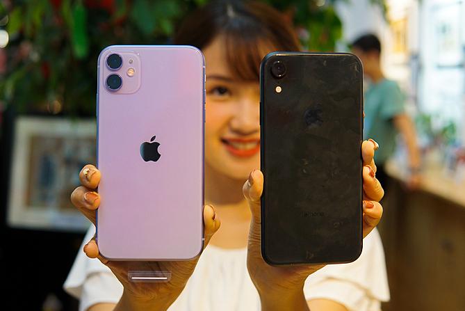 iPhone 11 và iPhone XR bán chạy nhất thế giới nhưng không được chuộng tại Việt Nam. Ảnh: Lưu Quý