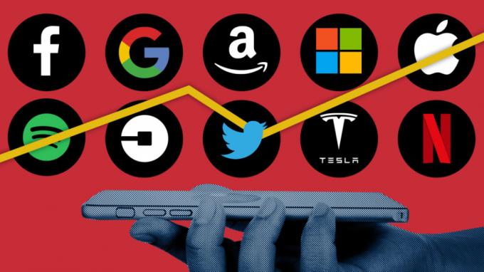 Nhóm Big Tech đang đóng vai trò lớn trong việc cung cấp dịch vụ cho người dân Mỹ khi đại dịch đang diễn ra. Ảnh: FT.