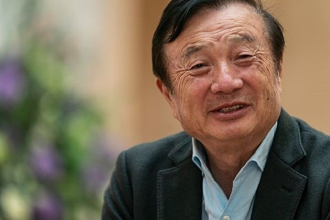 Huawei founder wants 'soon to be forgotten'