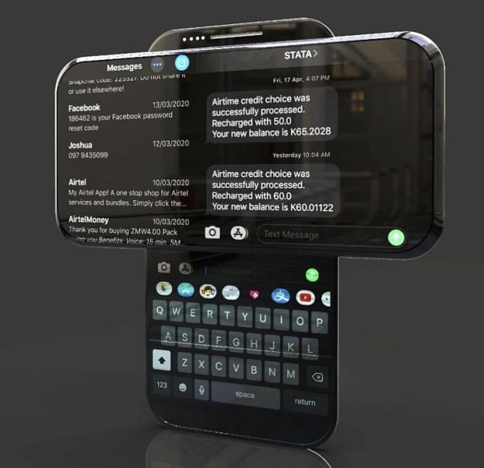 Ý tưởng iPhone 14 màn hình trượt xoay - 6