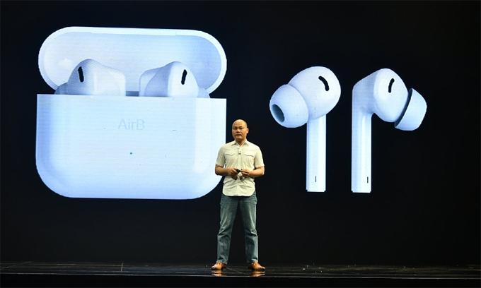 Bkav sản xuất tai nghe True Wireless - VnExpress