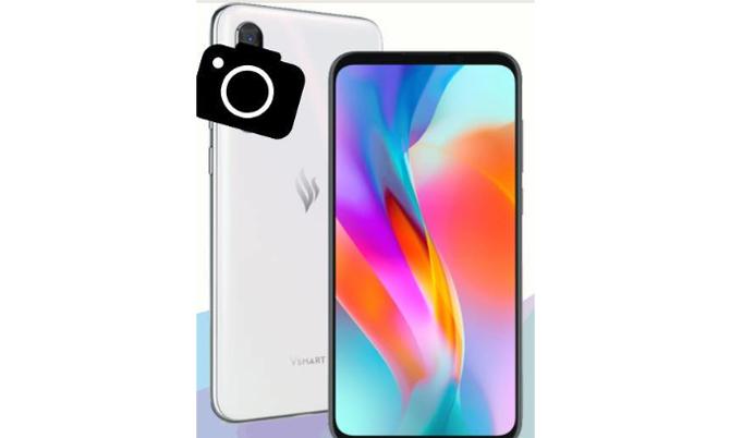 Ảnh dựng được cho là mẫu điện thoại Vsmart Lux mới. Ảnh: Vsmar Fans Club
