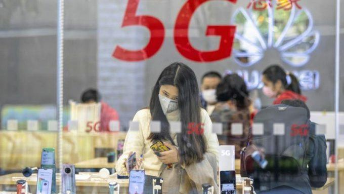 Mặc cho ảnh hưởng của Covid-19, 5G vẫn được triển khai mạnh mẽ tại Trung Quốc. Ảnh: Gizmochina.