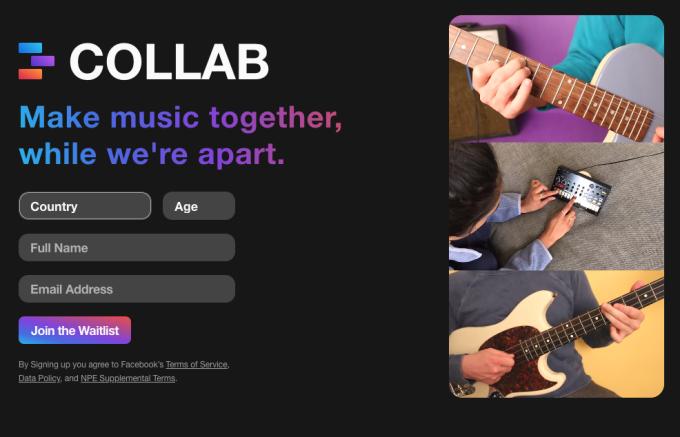 Ứng dụng mới của Facebook thiên về âm nhạc và hứa hẹn là đối thủ với TikTok.