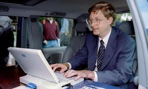 Bill Gates từng gửi bản ghi nhớ tới ban lãnh đạo Microsoft hồi năm 1995, trong đó ca ngợi lợi ích của Internet và gọi nó là cơn thủy triều.