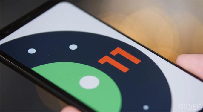 Android 11 beta hiện mới hoạt động trên điện thoại Google Pixel. Ảnh: 9to5Google.