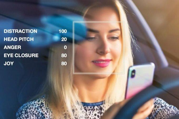 Phần mềm nhận diện cảm xúc của tài xế đang được Affectiva phát triển. Ảnh: Affectiva.