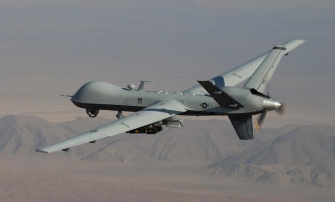UAV Mỹ tham chiến tại Afghanistan năm 2008. Ảnh:USAF.