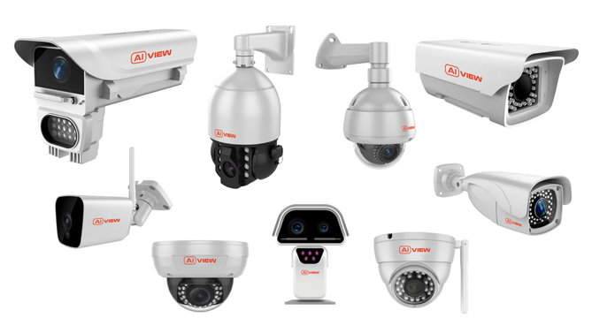 Một số mẫu camera giám sát của Bkav.