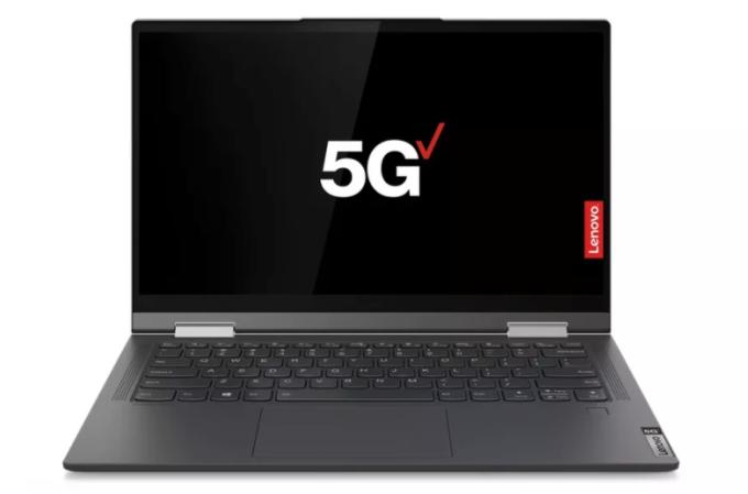Laptop hỗ trợ 5G bắt đầu có mặt trên thị trường với giá 1.400 USD. Ảnh: Theverge.
