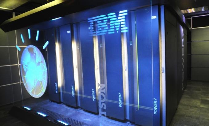 Hệ thống máy tính Watson do IBM phát triển. Ảnh:IBM.