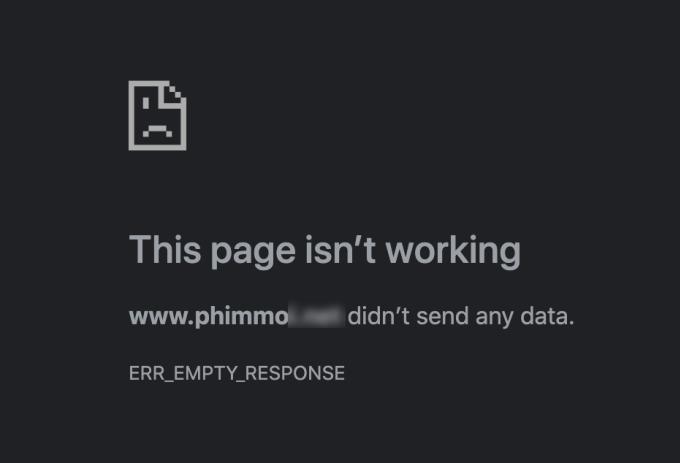 Người dùng nhận được thông báo trang web ngừng hoạt động khi truy cập vào sáng ngày 20/6.