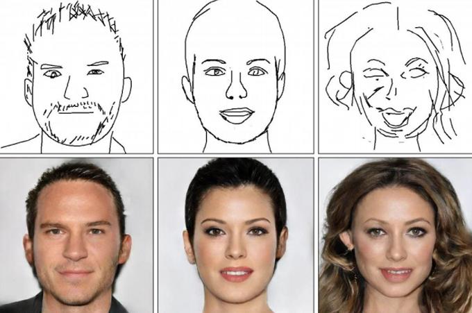 Các bức vẽ không xác định chủng tộc vàDeepFaceDrawing có xu hướng mặc định đó là người da trắng.