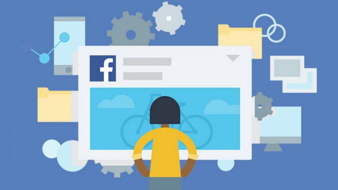 Người dùng cần cân nhắc khi đăng tải thông tin quan trọng lên Facebook. Ảnh: Pinterest.