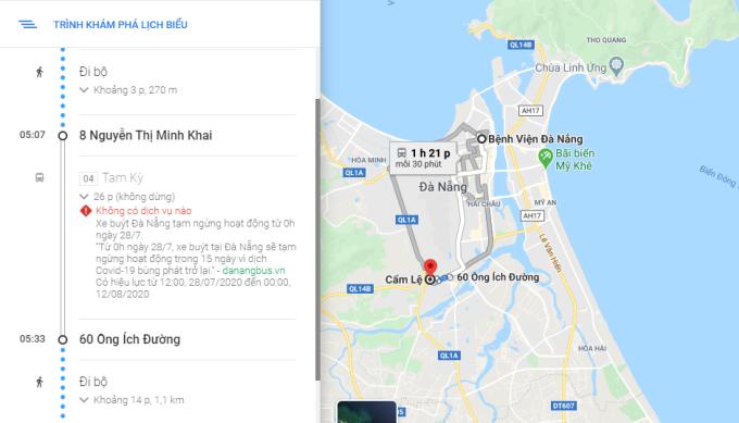 Cảnh báo mới xuất hiện trên giao diện Google Maps.