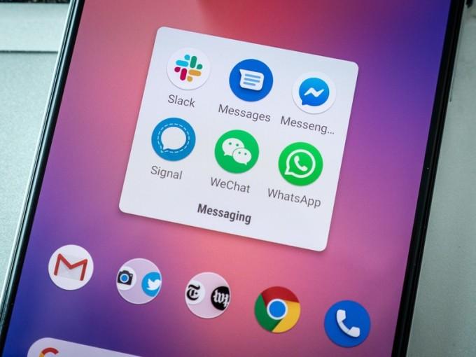 Signal được nhiều người Trung Quốc chọn để liên lạc với người thân tại Mỹ thay WeChat. Ảnh: AndroidCentral