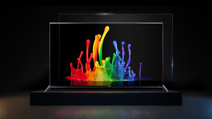Mẫu Smart TV cường lực 65 inch của Asanzo.