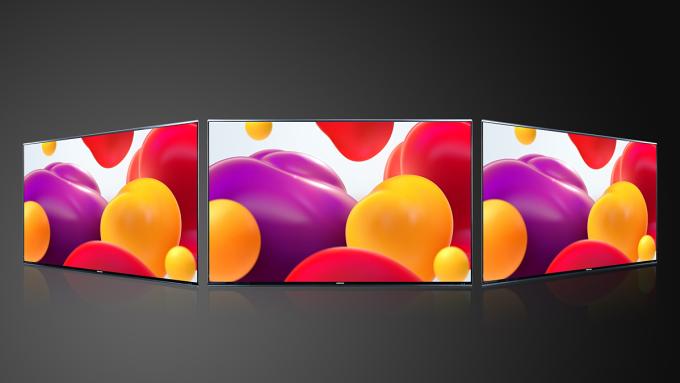Góc nhìn rộng  178 độ cùng màn hình không viền giúp tối ưu trải nghiệm hình ảnh.