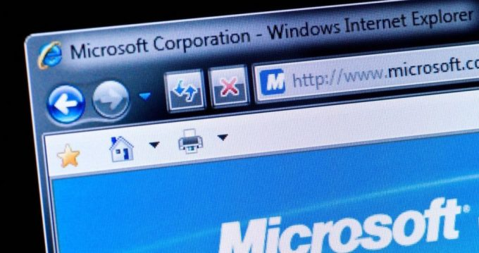 Microsoft deletes the Internet Explorer browser window