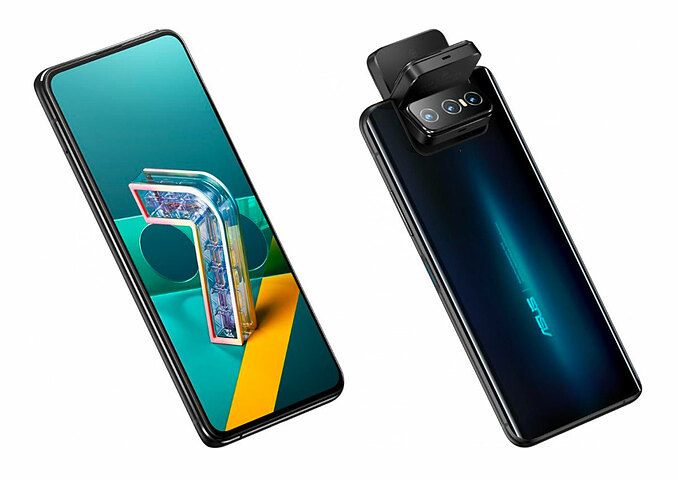 Zenfone 7 ra mắt với camera lật