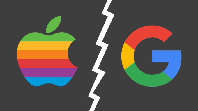 Apple can type Google search engine on iPhone