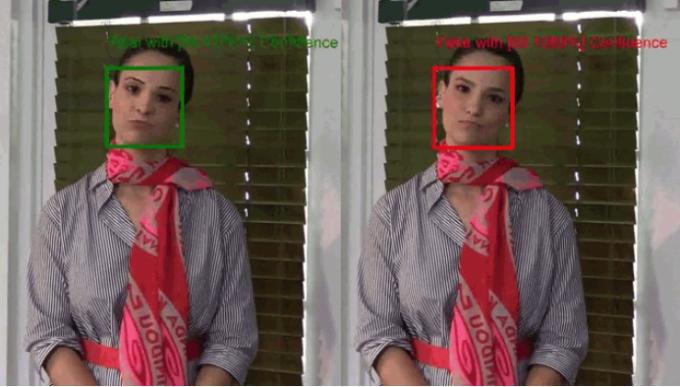 Công cụ Video Authenticator của Microsoft có thể phát hiện video deepfake từ các chi tiết nhỏ nhất. Ảnh: Microsoft.