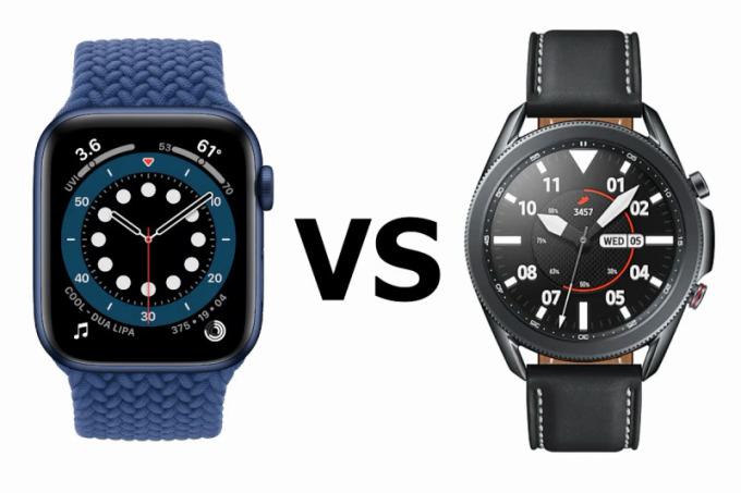 Apple Watch Series 6 vs Samsung Galaxy Watch 3