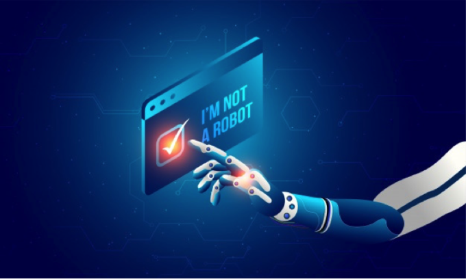 Tôi không phải người máy (I'm not a robot) là một phiên bản của reCAPTCHA. Ảnh: Analytics Insight.