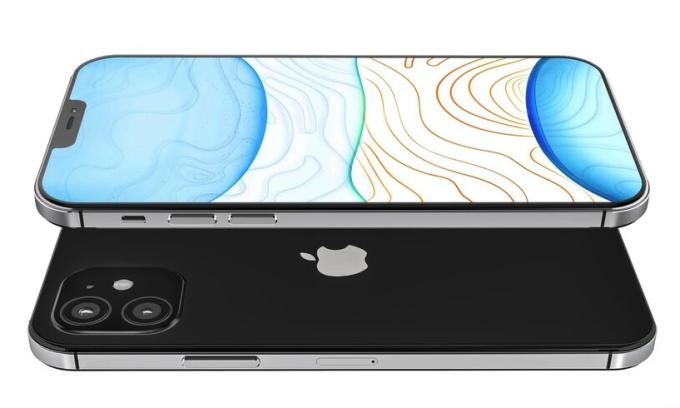 iPhone 12 có thiết kế khung viền mới, giống kiểu iPad Pro và iPhone 5s.