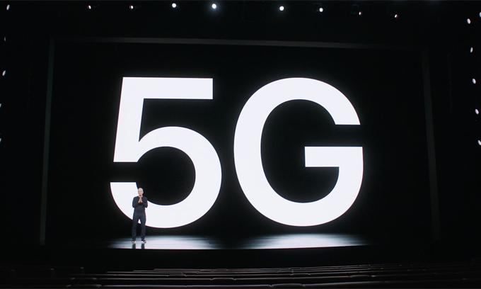 Cả bốn mẫu iPhone 12 đều có 5G.