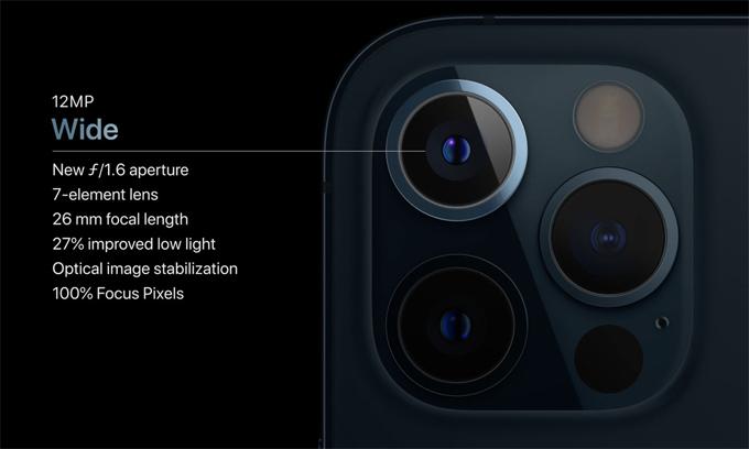 Camera luôn được Apple chú trọng nâng cấp.
