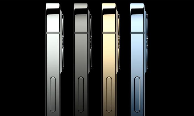 iPhone 12 có các cạnh vát phẳng.