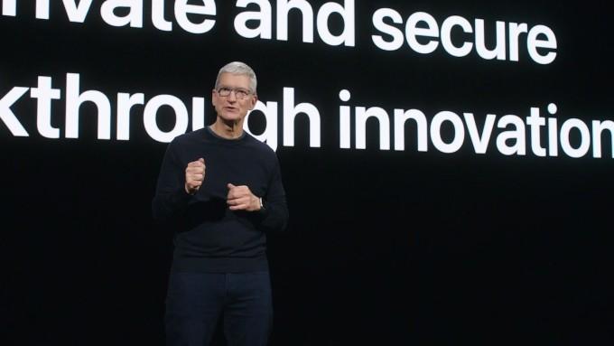 Tim Cook, CEO Apple tại sự kiện Hi Speed ngày 14/10.