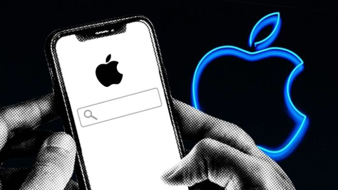 Apple đang tự phát triển một công cụ tìm kiếm riêng. Ảnh: FT.