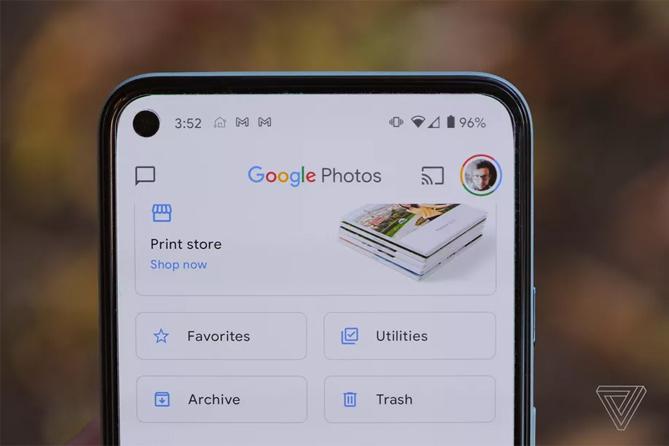 Google Photos không còn miễn phí. Ảnh: The Verge