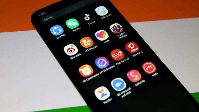 Hơn 200 ứng dụng Trung Quốc đã bị chặn tại Ấn Độ. Ảnh: DNA India