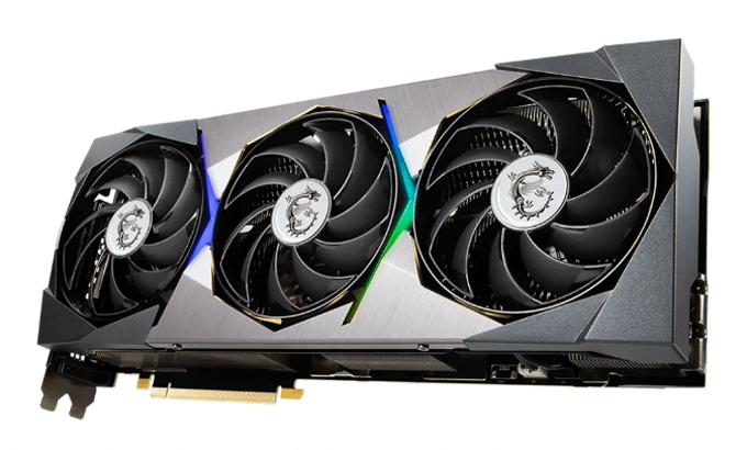 Card đồ họa Nvidia GeForce RTX 3090 hiện được bán với giá khoảng 2.250 USD. Ảnh: MSI.