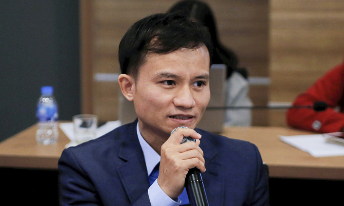 Ông Nguyễn Duy Lâm, chuyên gia giải pháp từ Huawei.