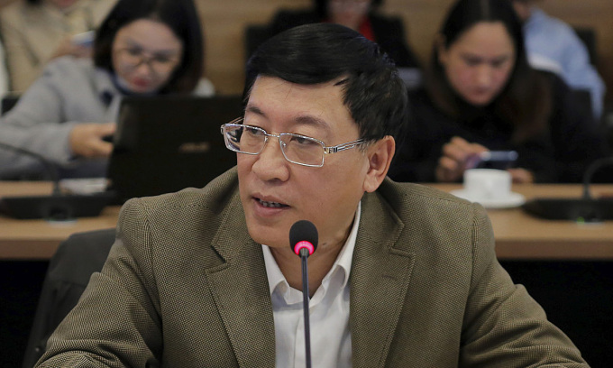 Nguyên Thứ trưởng Thông tin và Truyền thông Lê Nam Thắng.