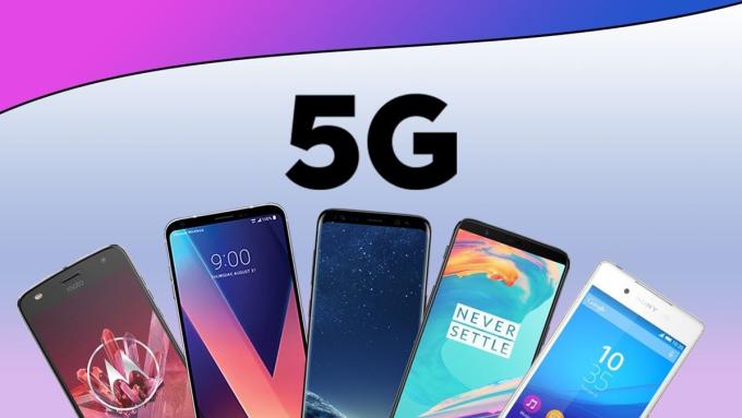 Ngày càng nhiều smartphone 5G có mặt trên thị trường. Ảnh: Ifeng.